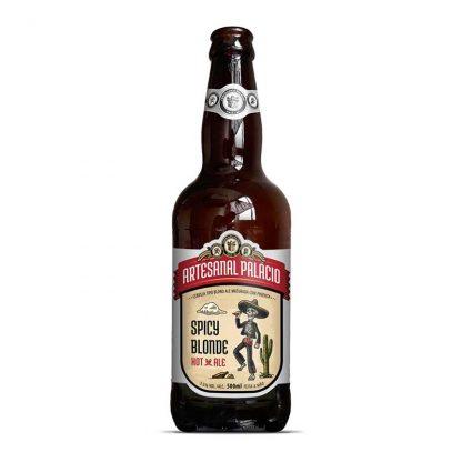 Cerveja Sazonal Cervejaria Palacio Spicy Blond Pimenta