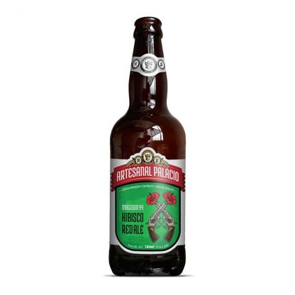 Cerveja Sazonal Cervejaria Palacio Magnum44 Hibisco