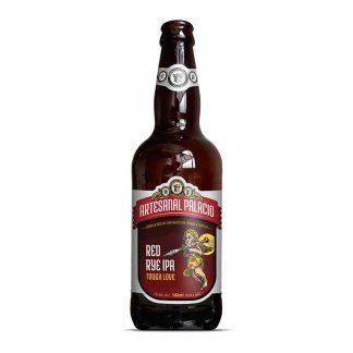 Cerveja Sazonal Cervejaria Palacio Red Rye IPA Centeio