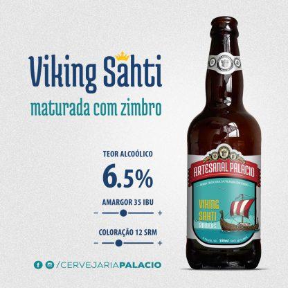 Cerveja Sazonal Cervejaria Palacio Sahti